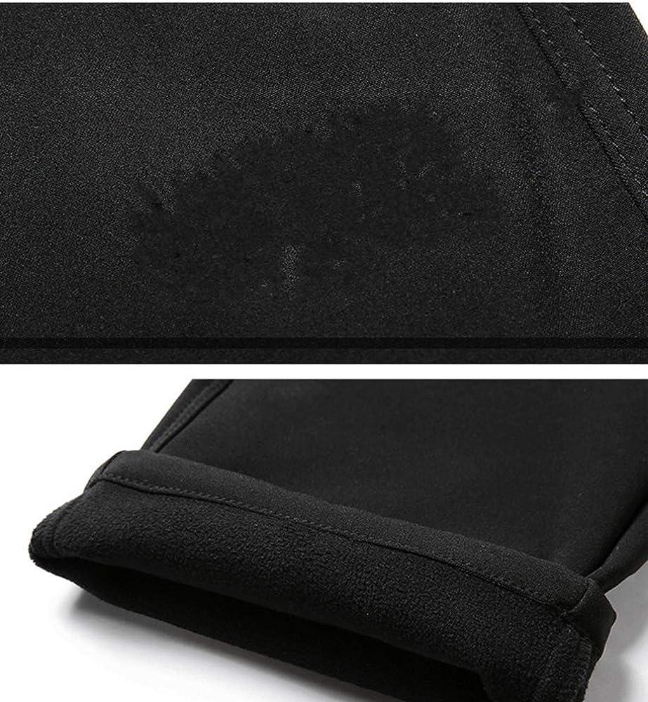 Huateng Unisex Softshell-Hose Winter Plus Gr/ö/ße Outdoor Fleece