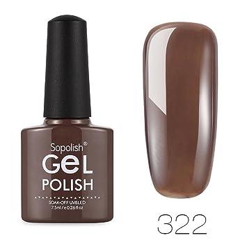 Fast Dry Nail Polish Gel Top Coat for Girls Women, Iuhan® Salon Perfect Nail