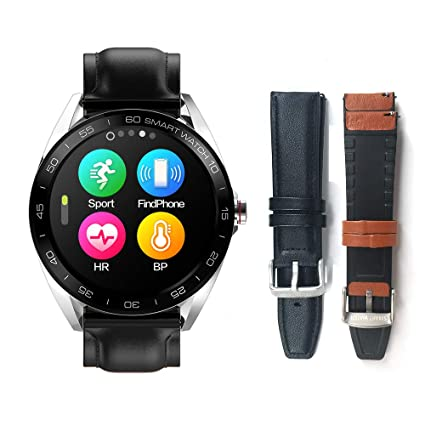 Amazon.com: Smart Watches for Men - 1.3 inch Large Size Full ...