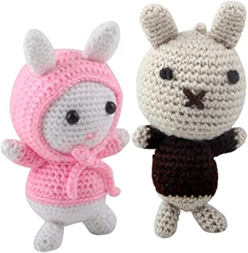 6 Cute Amigurumi Animal Easy Free Pattern Instruction for ... | 355x349