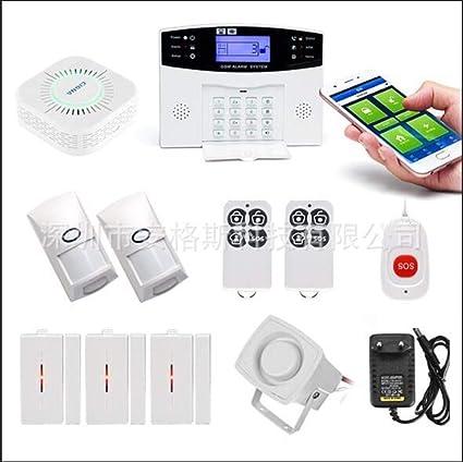 KTM MTK Casa Inteligente Sistema Alarma gsm, Control Remoto ...