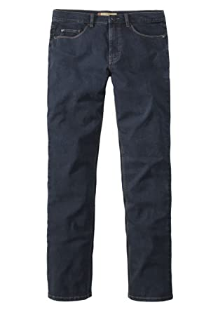 Paddock`s Herren Jeans Ranger Slim Fit Blau Blue Black Darkused, Größe:W 36 L 30, Farbe:Blue Black Darkused (5703)