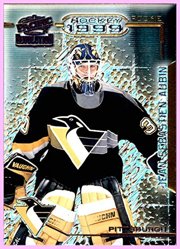 1998-99 Pacific Revolution #115 Jean-Sebastien Aubin RC PITTSBURGH PENGUINS ()
