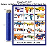 Refill Bullets, Yamix 300-Dart Refill Pack Refill Darts for nerf n-strike elite accustrike series blaster - Dark Blue + Grey