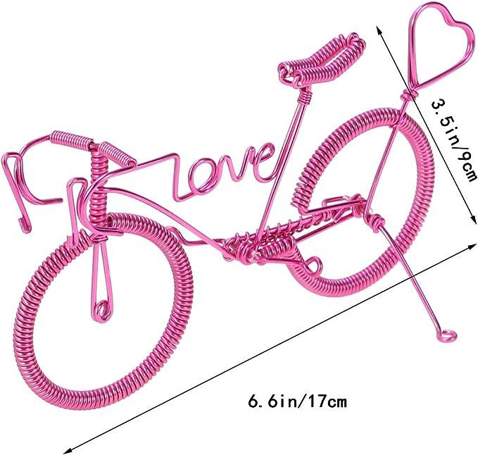 YeahiBaby Bicicleta Decoracion Metal día de San valentín ...