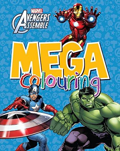 Marvel Avengers Assemble Mega Colouring (Inglés) Tapa blanda – 6 nov 2015 Parragon Parragon Book Service Ltd 1474827195 Novelty & Activity Books
