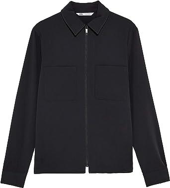 Zara Men Traveler 9621/356/800 - Camiseta, Color Negro Negro ...