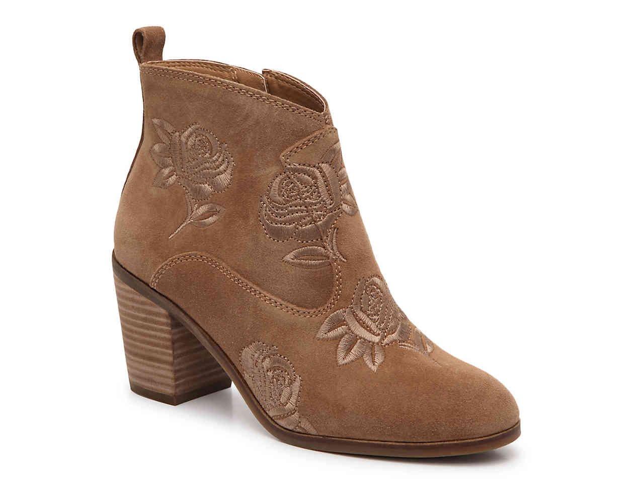 Lucky Brand Women's Pexton Ankle Boot B07693LRN6 10 B(M) US|Sesame