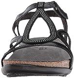Naot Footwear Women's Tamara Sandal Black Madras