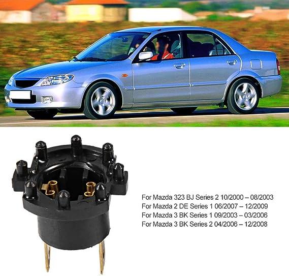 Hlyjoon 1 Paar Ersatzscheinwerfer Lampenfassung Adapter Halter Fit Für 3 5 323 B28v510a3 Scheinwerfer Fassung Halter Auto