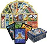 100 Assorted Pokemon Cards with Foils, 10 Promos! Includes 3 Custom Golden Groundhog Token Counters!