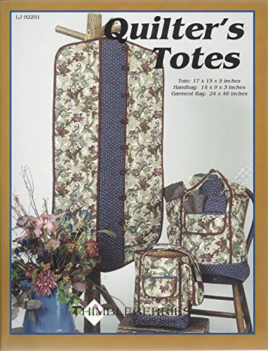Louise Saucer - Quilter's Totes