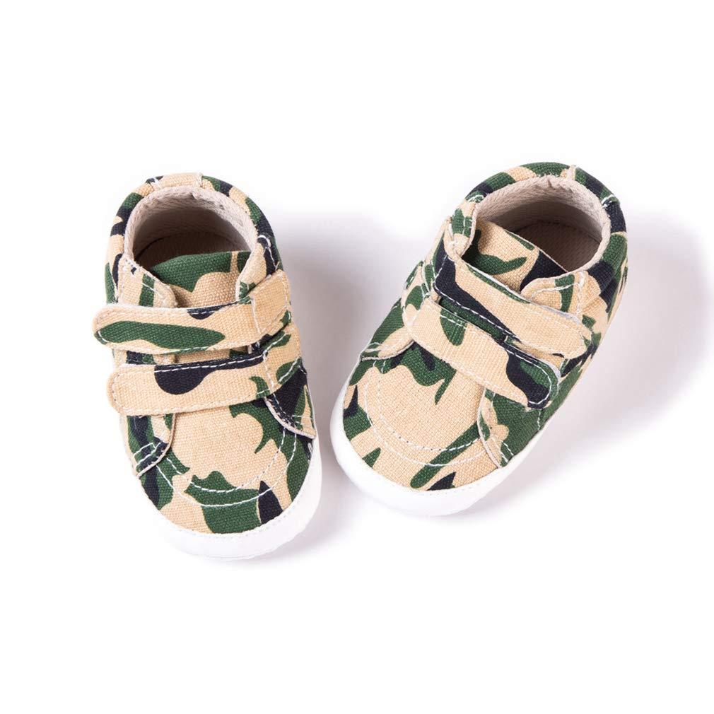 GEMVIE Zapatos Primeros Pasos Beb/é Unisex Ni/ños Ni/ñas de Lona con Suela