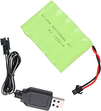 Crazepony-UK NI-MH Battery 6v 700mAh High Capacity Spare Battery ...