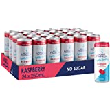 Mount Franklin Lightly Sparkling Water Raspberry Mini Cans 24 x 250 mL