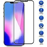 Maxku iPhone SE2 ガラスフィルム 3Dガラス液晶全面保護フィルム 3D曲面デザイン 日本旭硝子素材採用 高透過率 薄型 硬度9H 飛散防止処理 3Dラウンドエッジ加工 自動吸着 iPhone SE 2 液晶保護フィルム(ブラック)