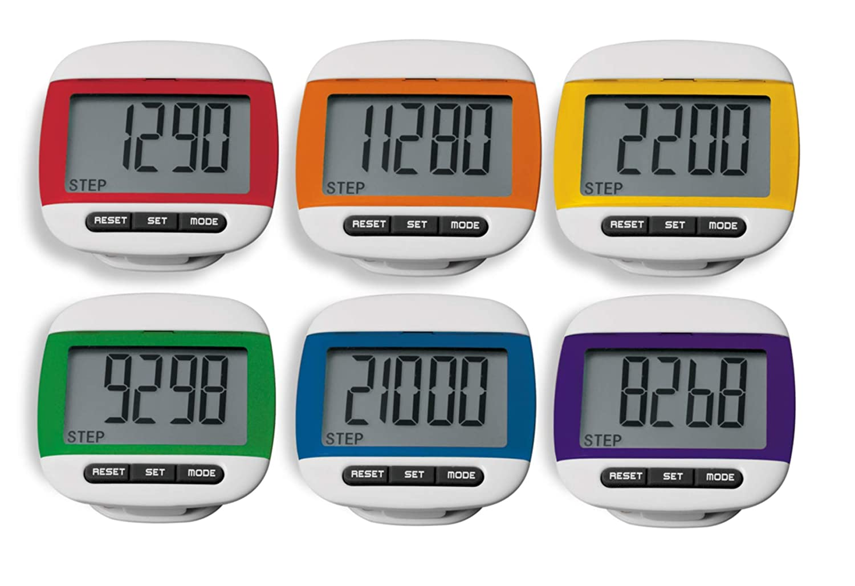 American Educational Products MAC-8013 Pedometer MAC-T Pack of 6