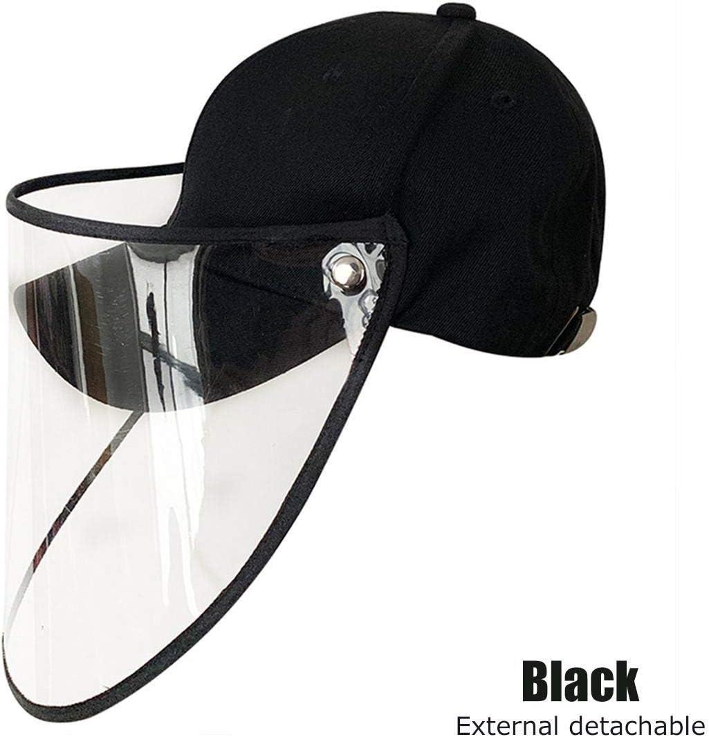 Máscara protectora Máscara Máscara de seguridad de la cubierta con el sombrero contra el polvo anti combustión saliva cubierta de la cara llena la protección de ojos tapa protectora