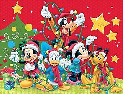 Disney Christmas Pictures.Ceaco Disney Family Christmas Puzzle 400 Piece