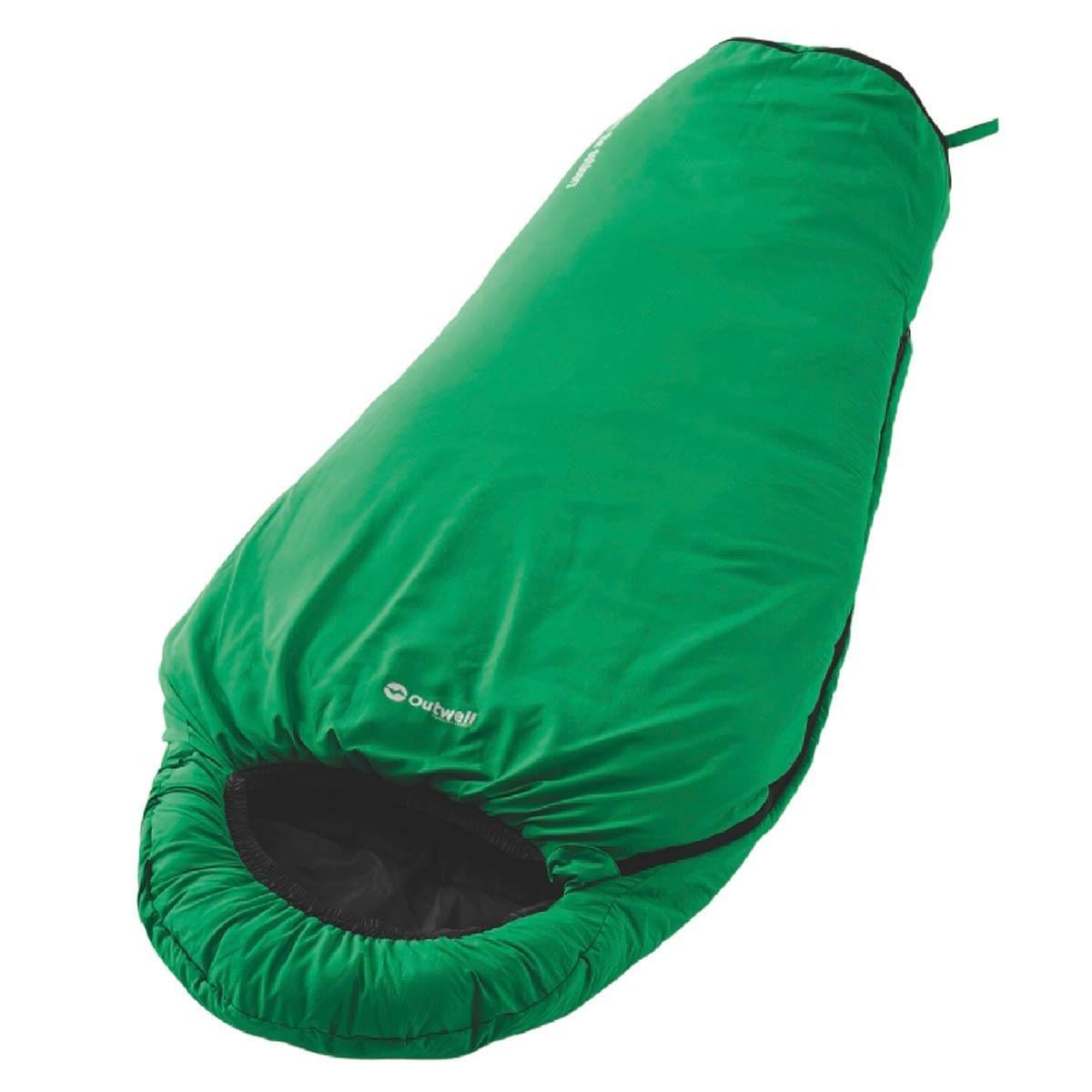 Outwell Saco de dormir infantil Convertible Junior Verde verde Talla:140 cm / 170 cm: Amazon.es: Deportes y aire libre