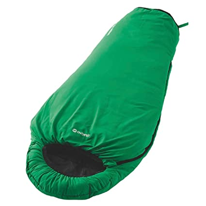 Outwell Saco de dormir infantil Convertible Junior Verde verde Talla:140 cm / 170 cm