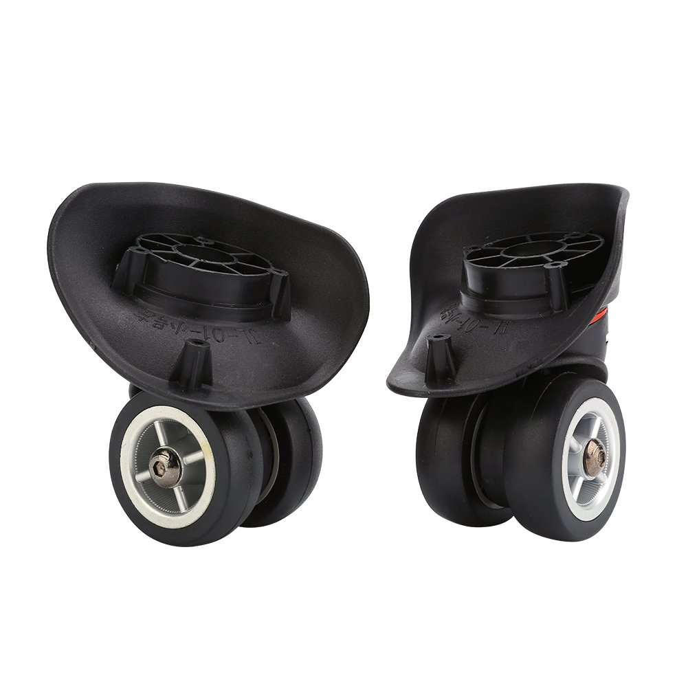 Luggage Universal Swivel Mute Wheels Replacement Travel Suitcase Directional wheels (#1)