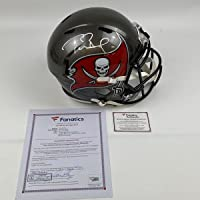 $2499 » Autographed/Signed Tom Brady Super Bowl LV Tampa Bay Buccaneers Full Size FS F/S…