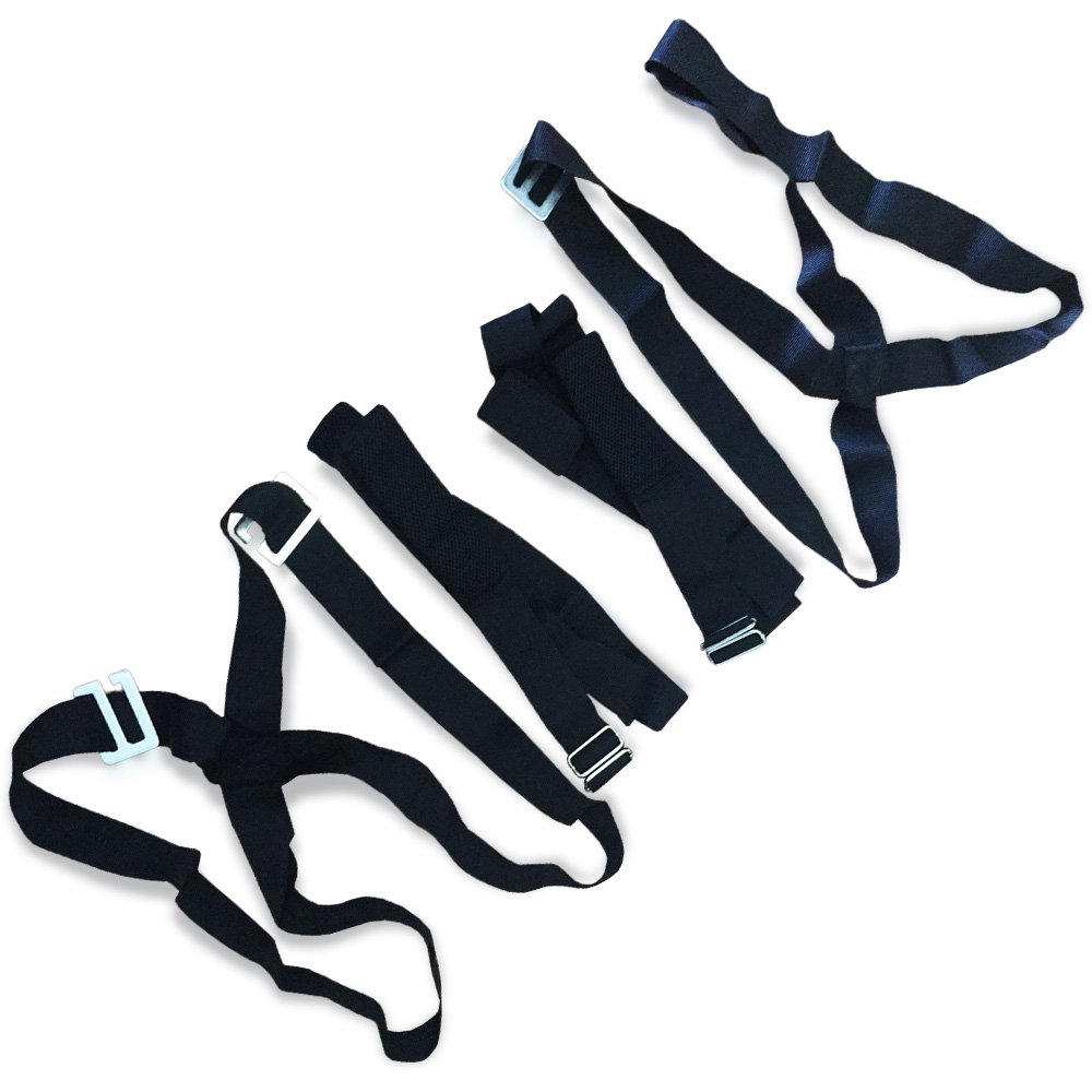 Professional Moving Straps Harnesses for 2 Movers | Moving Straps and Harness for Easily & Safely Lifting, Carrying, Moving Furniture and Appliances | 2 x Harnesses, 2 x Adjustable Straps