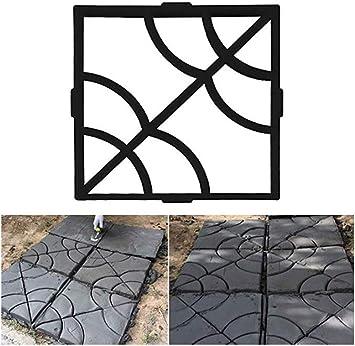 Moldes De Hormigón Para Moldes De Jardín Moldes De Plástico Para Pisos De Cemento Moldes De Concreto Para Pavimentos: Amazon.es: Bricolaje y herramientas