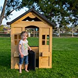 Be Mindful | Solid Wood Outdoor Playhouse in
