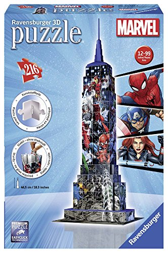 Ravensburger Marvel Empire State Building Jigsaw Puzzle (216 Piece)