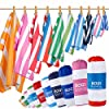 BOGI Microfiber Sports&Travel Towel-Pack of 2–(Size:M/L/XL) with Hand/Face Towel for Travel Bath Beach Swiming Camping… 12 spesavip