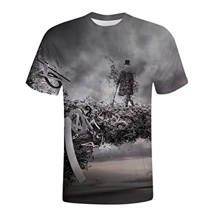 b08e6d97 Casual T Shirts for Men Funny Printed, 2019 New Camouflage t Shirt Men's  Casual Funny