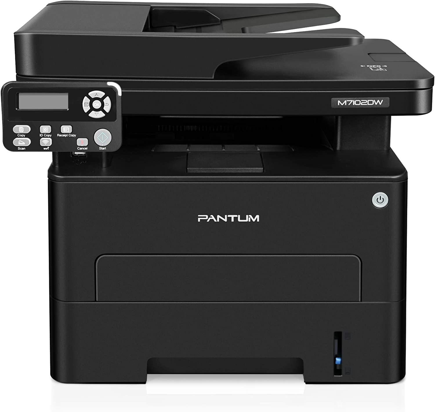 All-in-one Laser Printer with Scanner Copier, Monochrome Wireless Laser Printer, Mobile& Networking& Auto Two-Sided Printing, Print at 35PPM, Pantum M7102DW(V4T56A)