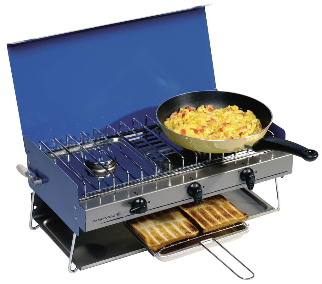 Campingaz Camping Chef Stove and Grill with Clips and Tubing ...