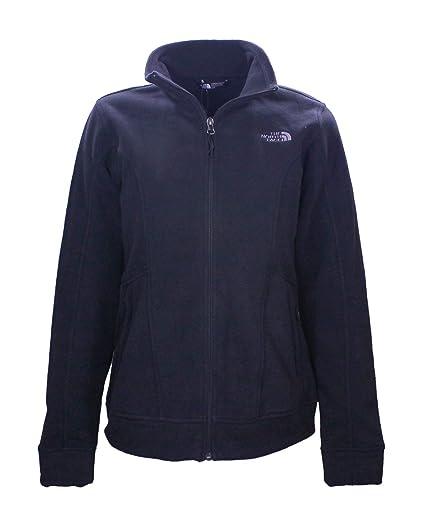 3f5fba831d The North Face Women's Chiara Fleece Jacket Full Zip Sweater, TNF Black  (Medium)