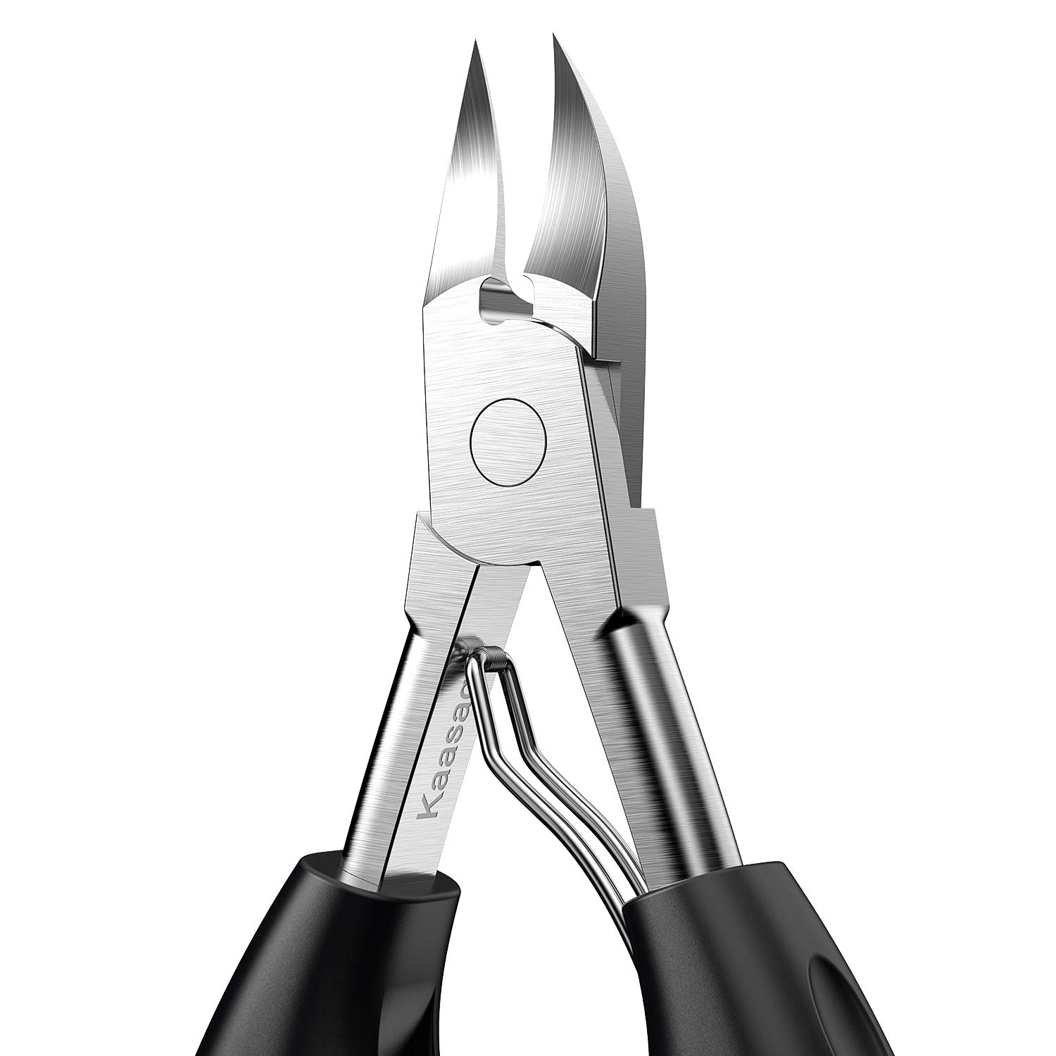 Kaasage Professional Toenail Clippers, Large Opening Double Spare Spring Design, Suitable for Thick Nails and Ingrown Nail Clippers for Everyone and Elderly.: Beauty