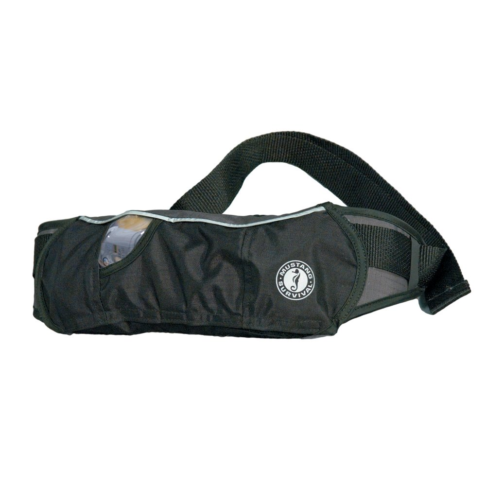 Mustang Survival - Mustang Inflatable Belt Pack PFD - Black/Carbon