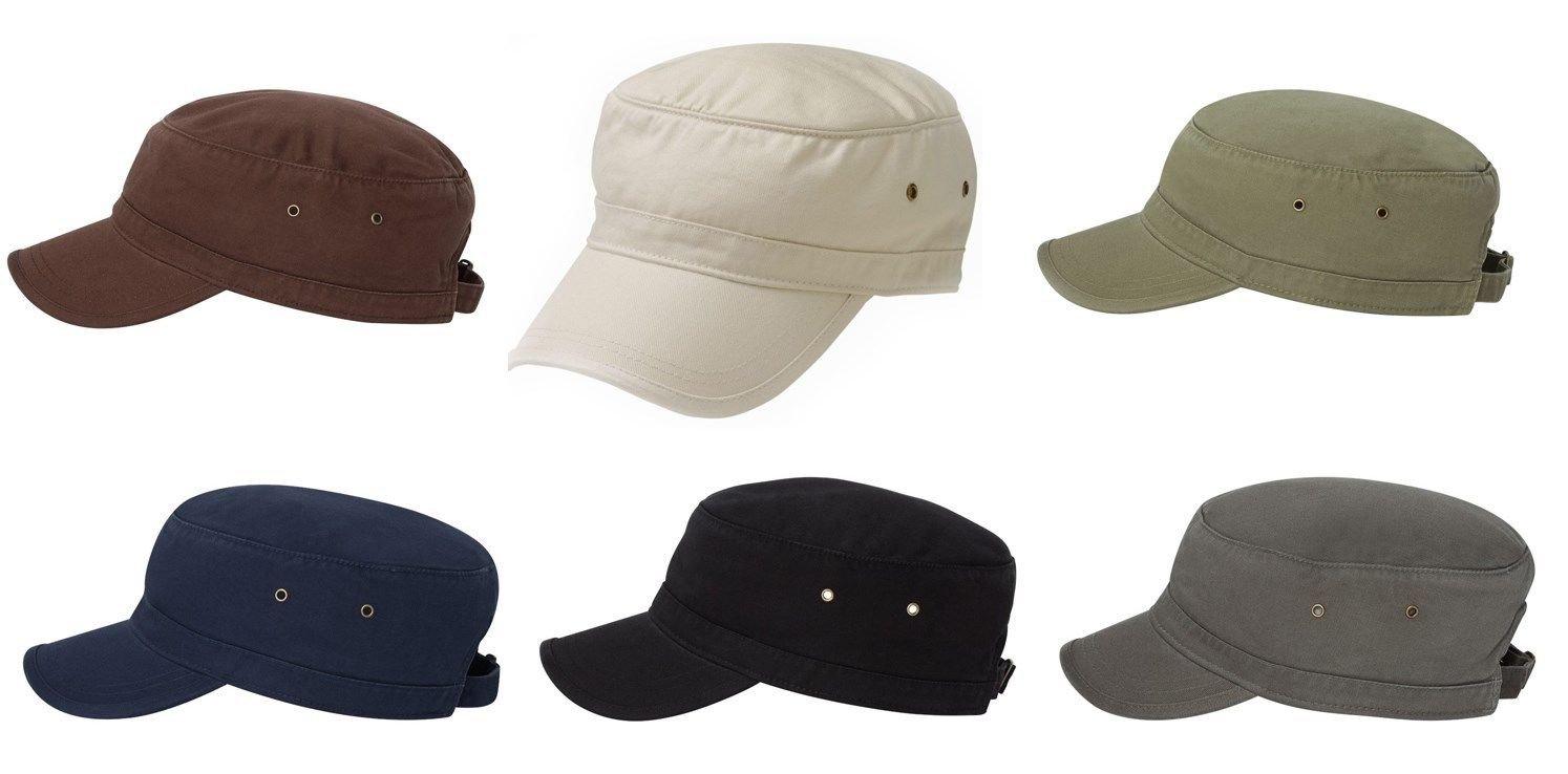 310a2a643d1 Amazon.com  econscious 100% Organic Cadet Cap 6 Pack (Grey