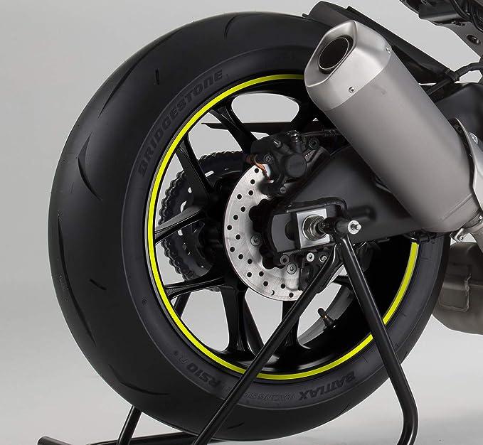 PUIG - 2568X : Strip tirillas Cintas Aros Adhesivos Llantas Moto Fluorescente 6 Metros: Amazon.es: Coche y moto