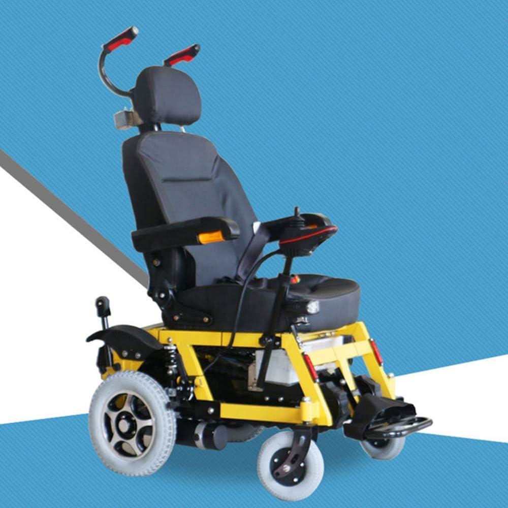 DLY Ancianos Discapacitados Silla de Ruedas Eléctrica, Escalada Silla de Ruedas Venta Directa Escaleras de Escalada Eléctrica Silla de Ruedas Arriba Escaleras de Silla de Ruedas Smart Old Men