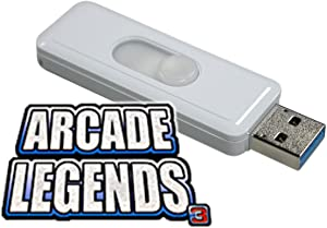Chicago Gaming Arcade Legends 3 Game Pack 536 with 30 Additional Games