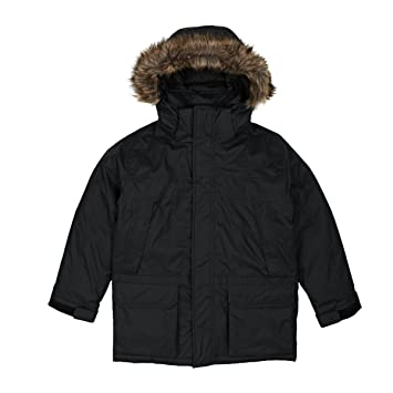 The north face black uws parka
