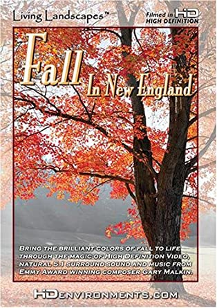 amazon com living landscapes hd fall in new england wmv hd for