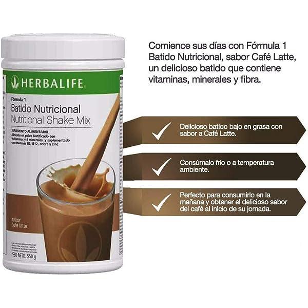 Formula 1 - Cafe Latte: Amazon.es: Salud y cuidado personal