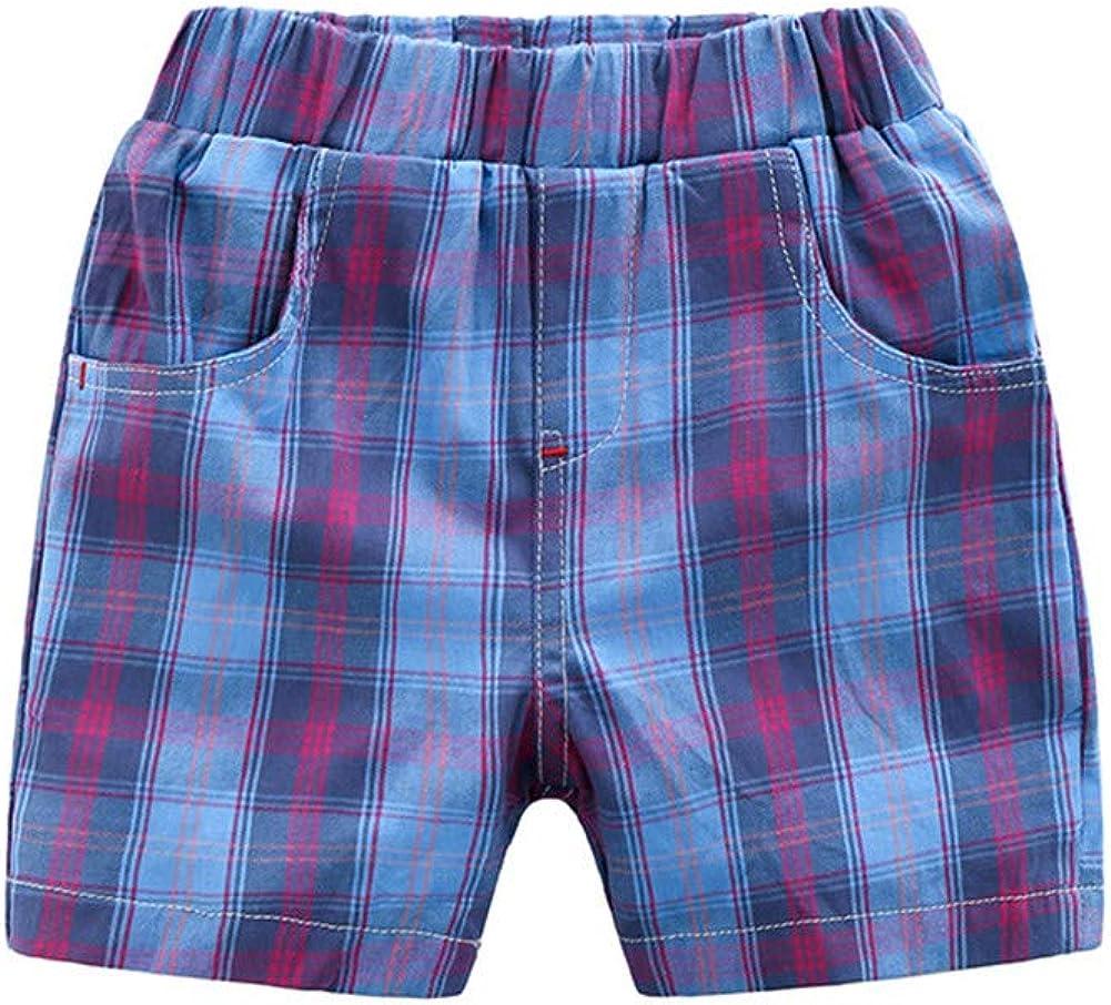 Mud Kingdom Little Boys Shorts Elastic Waist Casual Wear