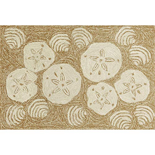 (Liora Manne FT034A34622 Whimsy Beach Rocks Rug, Indoor/Outdoor, 48
