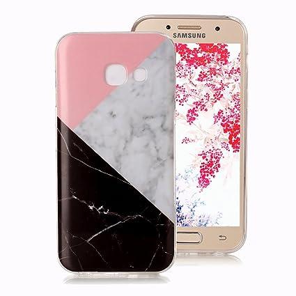Funda Mármol para Samsung Galaxy A3 2017, Ronger Carcasa Gel ...