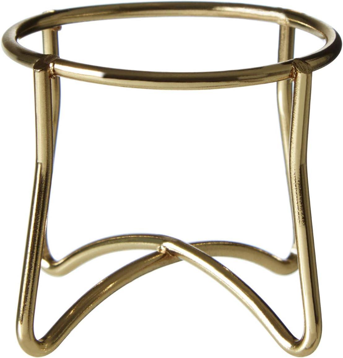 Premier Housewares - Huevera (alambre de hierro), dorado