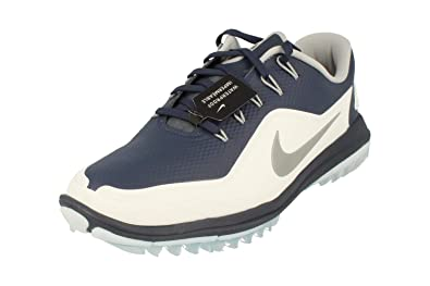 bfd8d19612aa Image Unavailable. Image not available for. Color  Nike Lunar Control Vapor  2 Spikeless Golf Shoes 2018 Thunder Blue White Pure Platinum